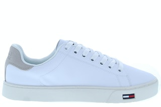 Tommy hill essential tommy jeans sneaker 100 white 242000110 01