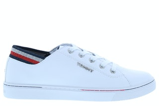 Tommy hill glitter detail city sneaker ybs white 141000428 01