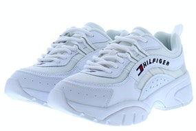 Tommy Hill Heritage tommy jeans wmns runn YBS white Damesschoenen Sneakers