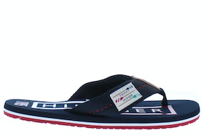 Tommy Hill Hilfiger badge beach sandal dw5 desert sky Herenschoenen Slippers