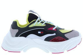 Tommy Hill WMNS fashion chunky runner BDS black Damesschoenen Sneakers
