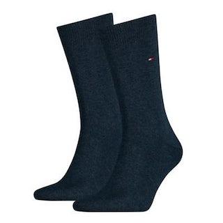 Tommy Hilfiger Sock classic 2 pack 356 jeans Sokken