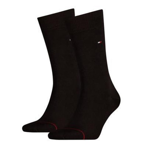 Tommy Hilfiger Sock classic 2 pack 200 black Sokken