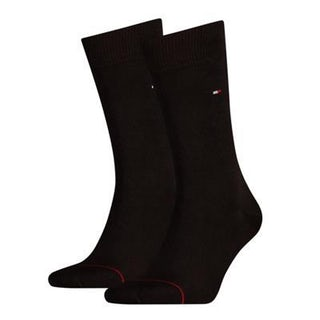 Tommy Hilfiger Sock classic 2 pack 200 black Accessoires