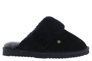 Warmbat Flurry 3210 black Damesschoenen Slippers