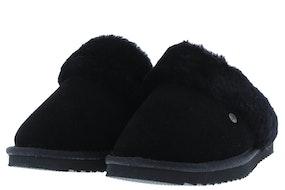 Warmbat Flurry 3210 black Damesschoenen Slippers
