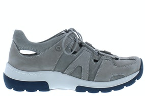 Wolky Nortec 0302811 206 light grey Damesschoenen Veterschoenen