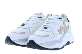 Womsh Futura white rose Damesschoenen Sneakers
