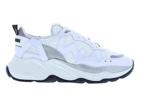 Womsh vegan futura white grey Damesschoenen Sneakers