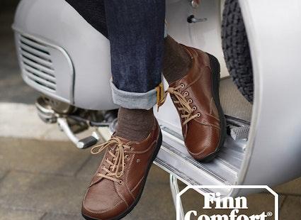 Finn Comfort Cerritos 2385 weiss silber