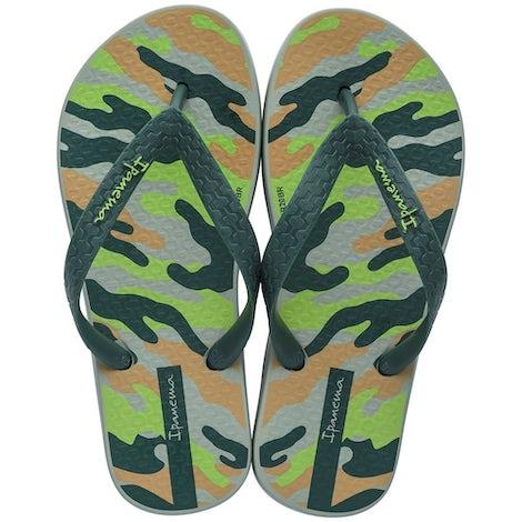 Ipanema 82883 21605 Green/Beig Sandalen en slippers Sandalen en slippers