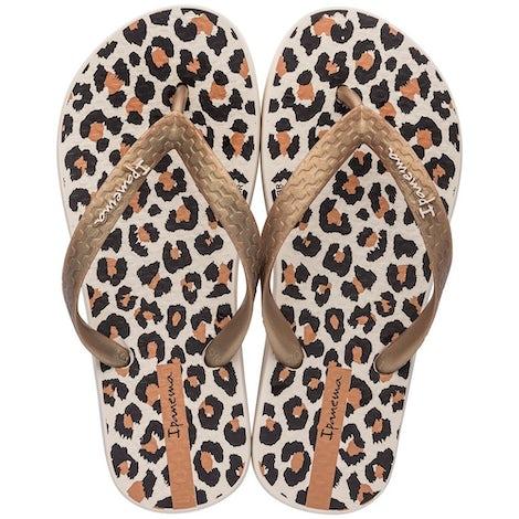Ipanema 82883 25011 Beige/ Gol Sandalen en slippers Sandalen en slippers