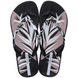 Ipanema 82884 25280 black/Whit Damesschoenen Slippers